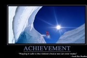 Achievement Quotes about Ambition: Great Ambitions Brings Great Achievements