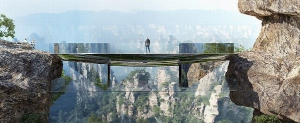 Worlds Longest Glass Bridge China
